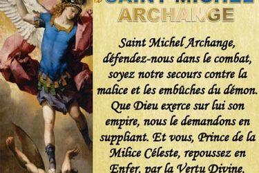 Prière à saint Michel du pape Léon XIII (1884)