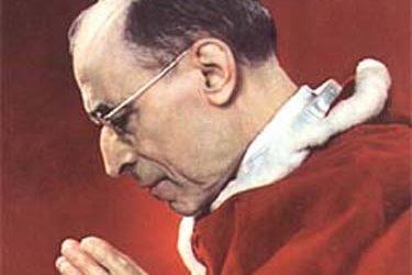 Prière pour nos Familles » de Pie XII